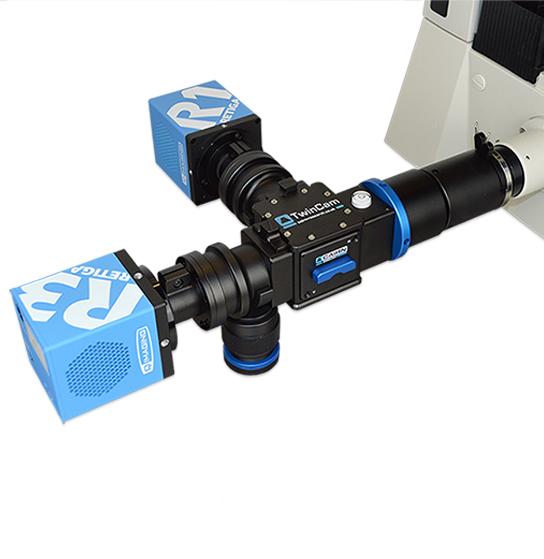 TwinCam, R1, R3 Mounted Microscope