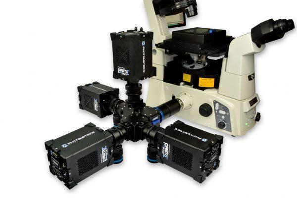 Cairn MultiCam with 4X Photometrics 95B Cameras