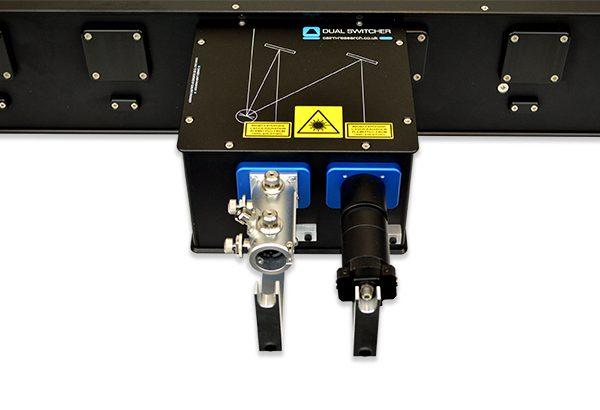 Dual Switcher MultiLine LaserBank Close Up