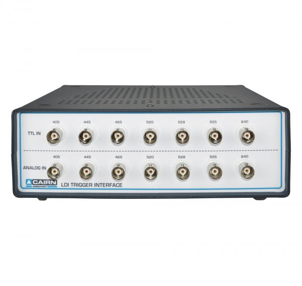 LDI Laser Diode Illuminator Control Panel