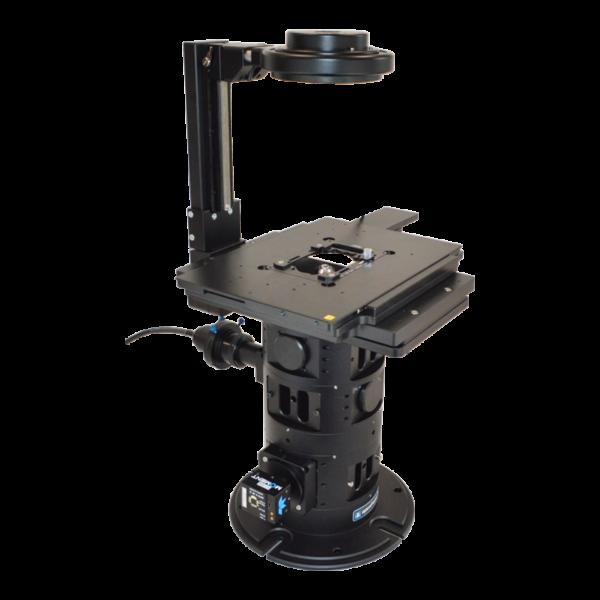 openFrame with Aura Pro fibre epi-illumination and a Moment camera